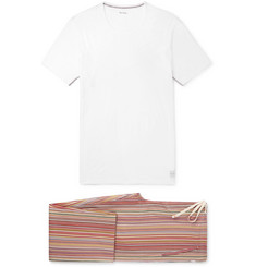 Paul Smith - Cotton-Jersey Pyjama Set