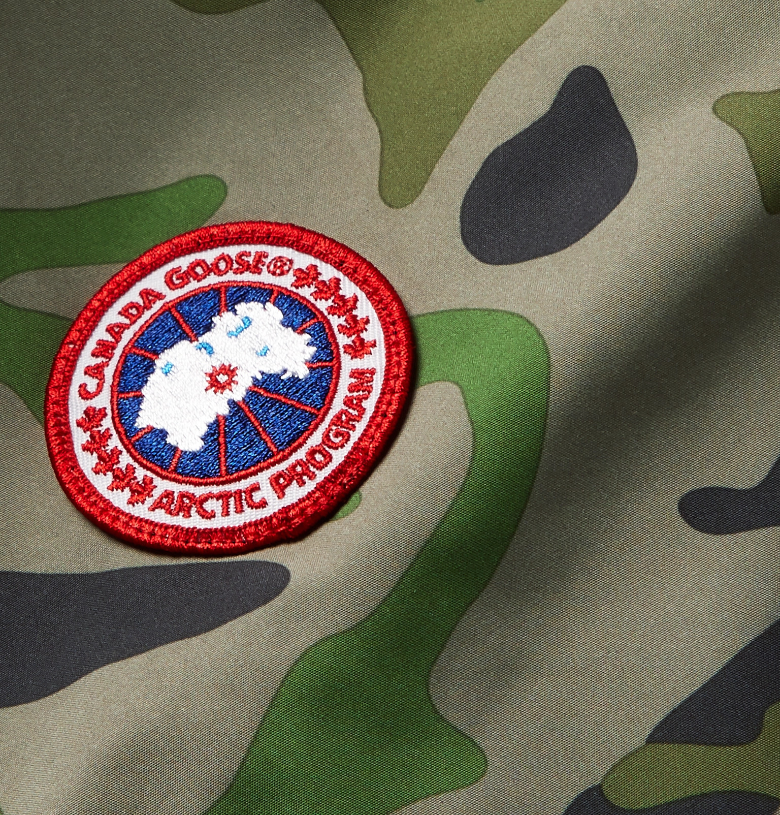 351b54029fc4d Canada Goose - Crew Camouflage-Print Shell Jacket