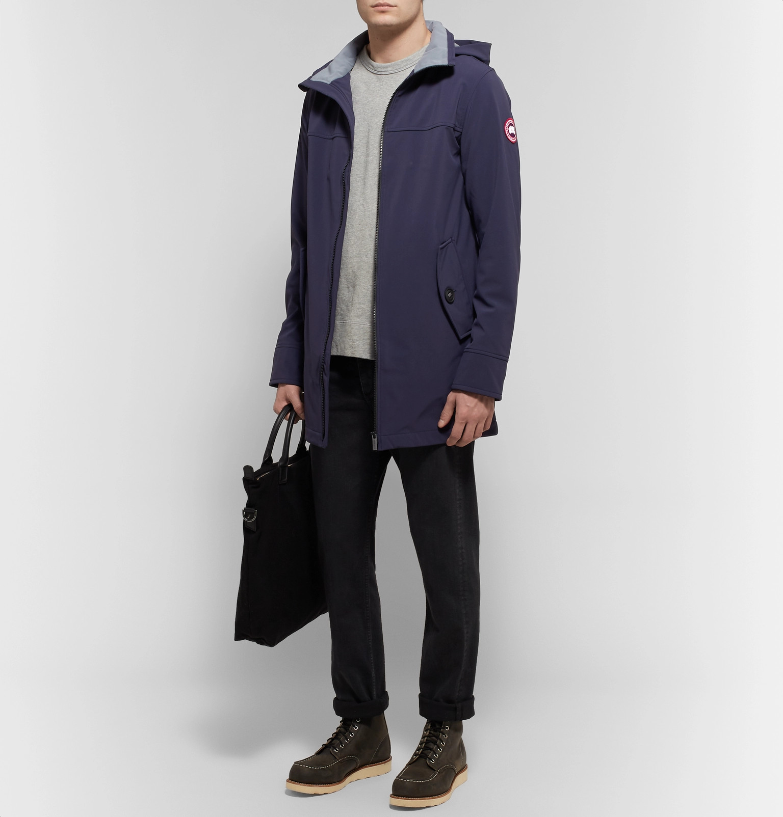 46b0d92bf0f5 Canada Goose - Kent Slim-Fit Tri-Durance SS Hooded Jacket