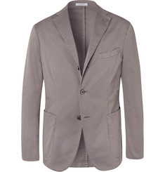 Boglioli Stone K-Jacket Slim-Fit Unstructured Stretch-Cotton Twill Suit Jacket