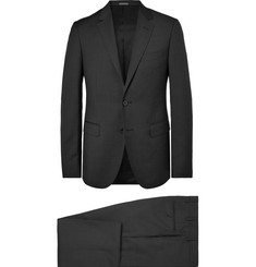 Lanvin Charcoal Slim-Fit Wool Suit