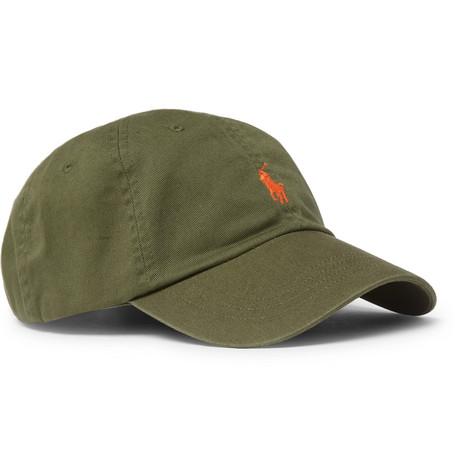 Polo Ralph Lauren – Logo-embroidered Cotton-twill Baseball Cap – Green