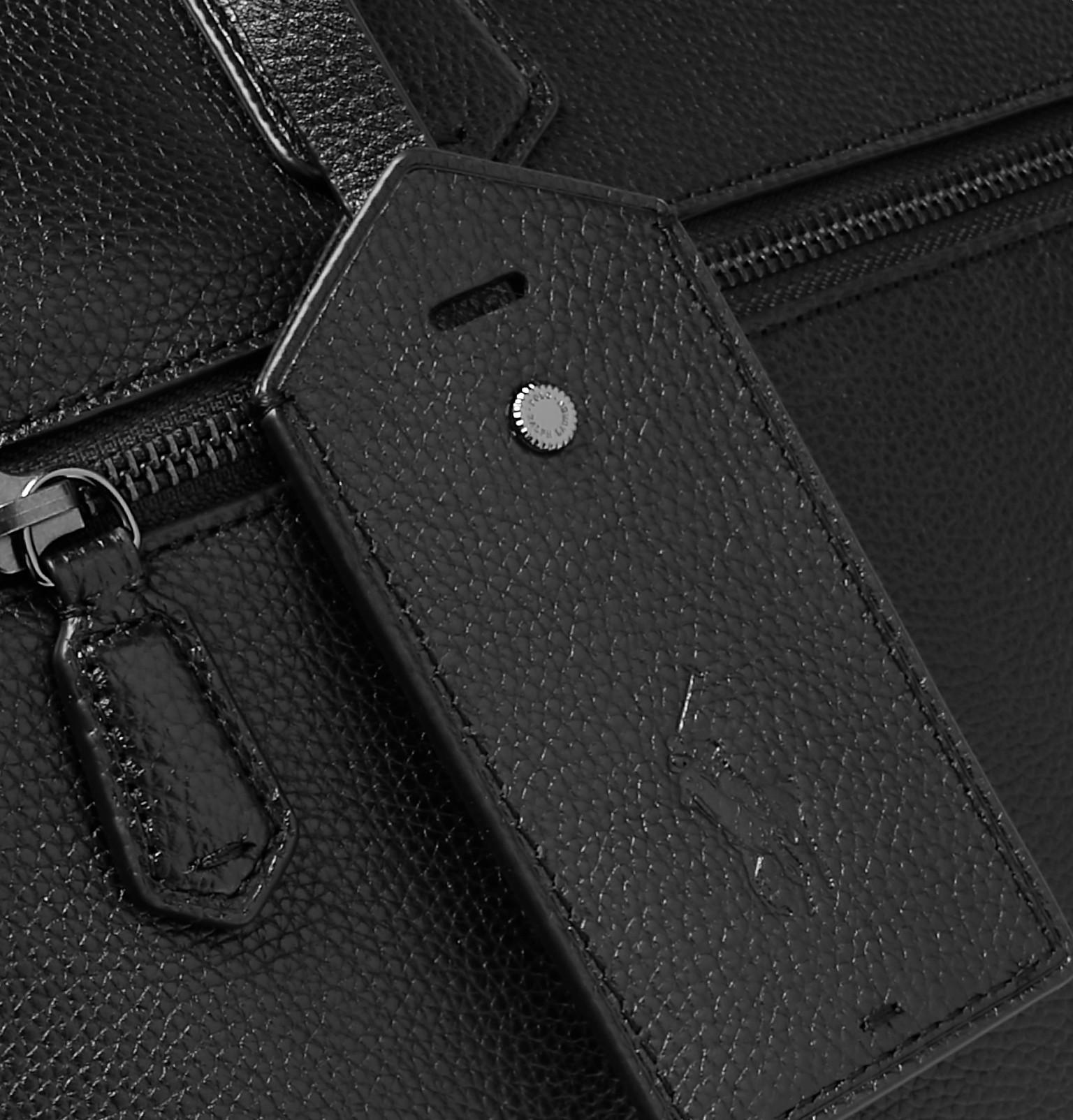 47ce1702a022 Polo Ralph Lauren - Pebble-Grain Leather Briefcase
