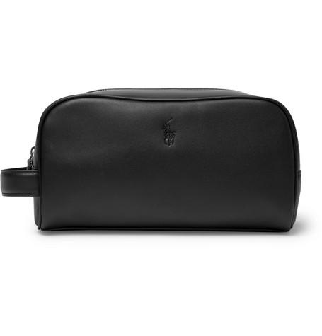 1da1743940 Polo Ralph Lauren - Leather Wash Bag