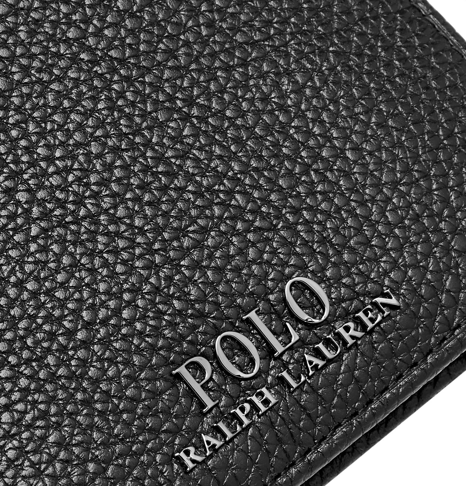 7d323ca7bcc2 Polo Ralph Lauren - Pebble-Grain Leather Billfold Wallet