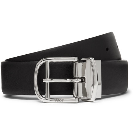e8c8b2325be0 Polo Ralph Lauren - 3cm Black and Brown Reversible Leather Belt