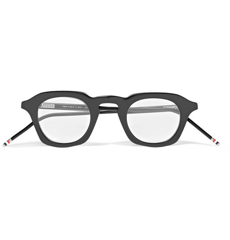 e257d72db2 Thom Browne - Square-Frame Acetate Optical Glasses