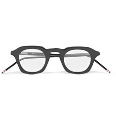 Thom Browne - Square-Frame Acetate Optical Glasses