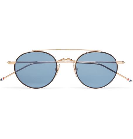 Sol Gafas Thom Con Xpqhi Montura Browne Redonda Azul De yYvI6bf7g