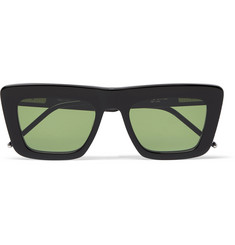 Thom Browne Square-Frame Acetate Optical Sunglasses
