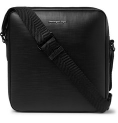 Ermenegildo Zegna - Cross-Grain Leather Messenger Bag
