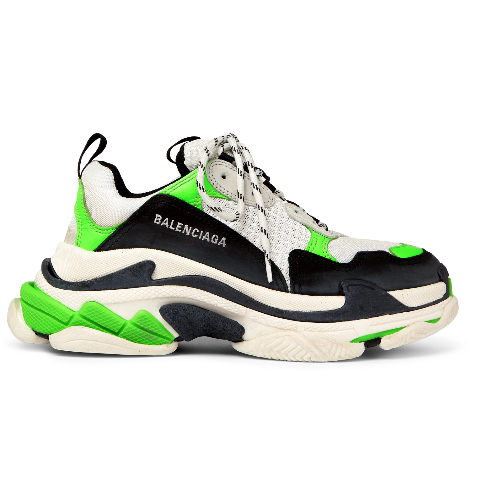 Cheap Balenciaga Triple S Trainers Red Blue sneakers online