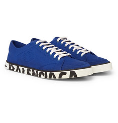 Balenciaga - Match Logo-Print Canvas Sneakers