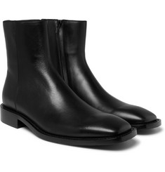 Balenciaga - Polished-Leather Boots