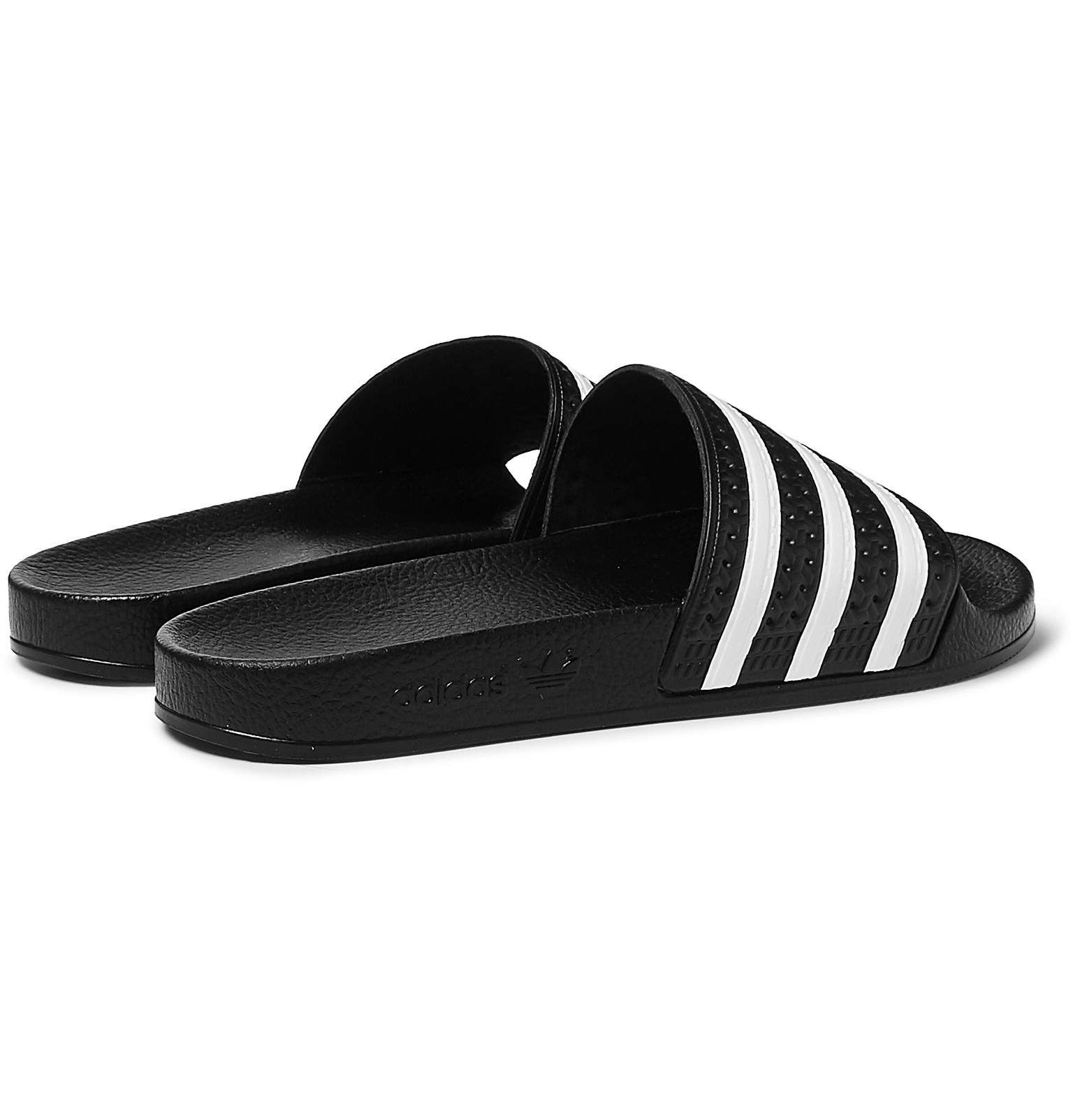 b0d821cd6 adidas Originals - Adilette Textured-Rubber Slides