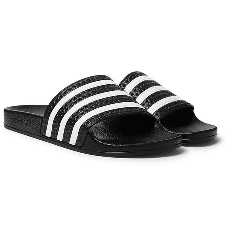 057e3bcd93ab adidas Originals - Adilette Textured-Rubber Slides