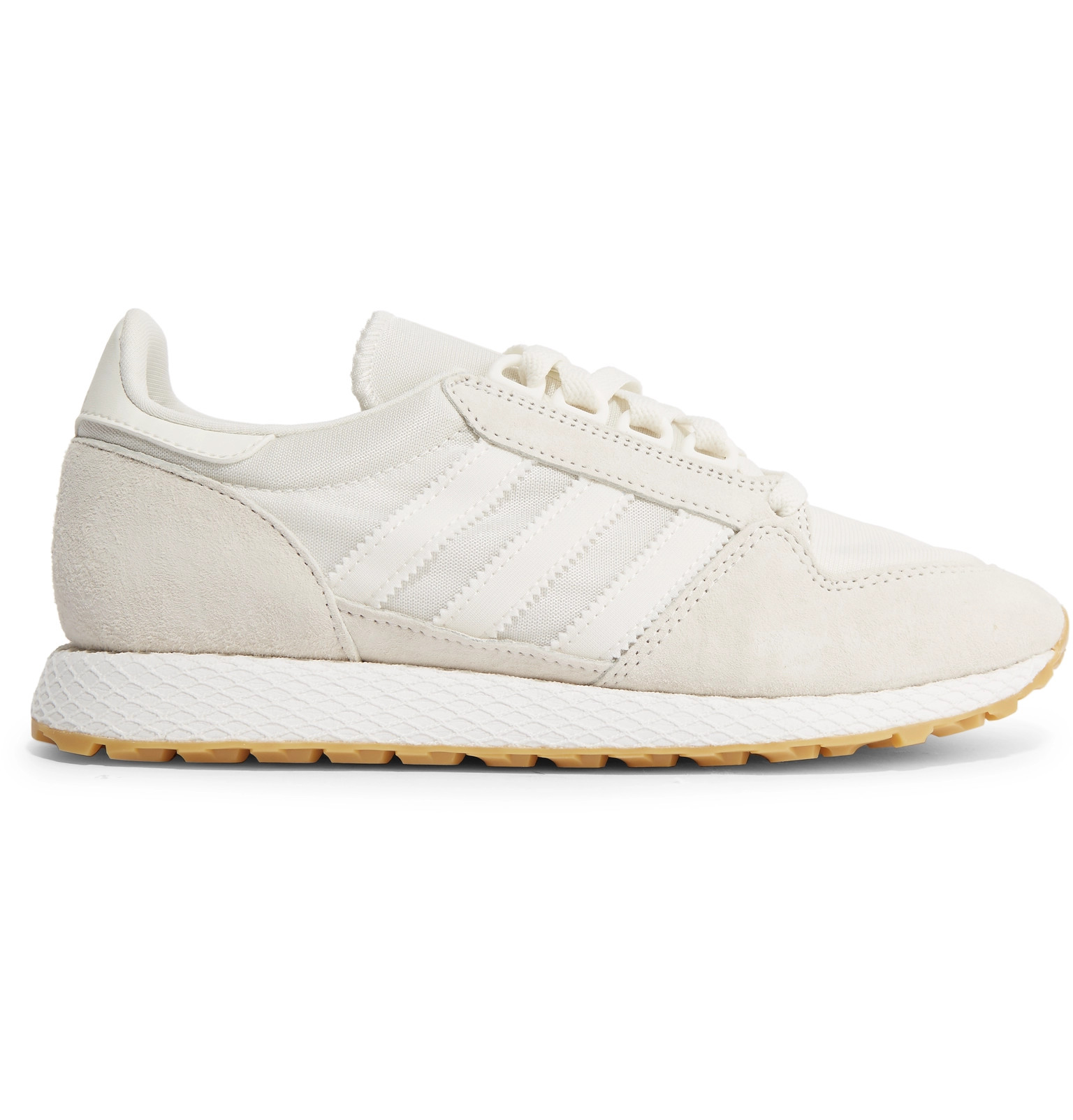 03d079ea3bc adidas Originals - Forest Grove Suede and Mesh Sneakers