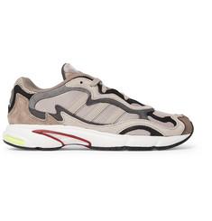 80e4ffeb5f26 adidas Originals Temper Run Mesh and Suede Sneakers