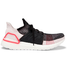 adidas Originals UltraBOOST 19 Rubber-Trimmed Primeknit Sneakers
