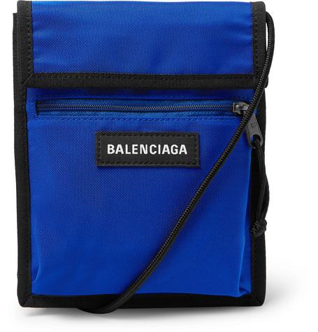 Balenciaga – Explorer Canvas Messenger Bag – Blue