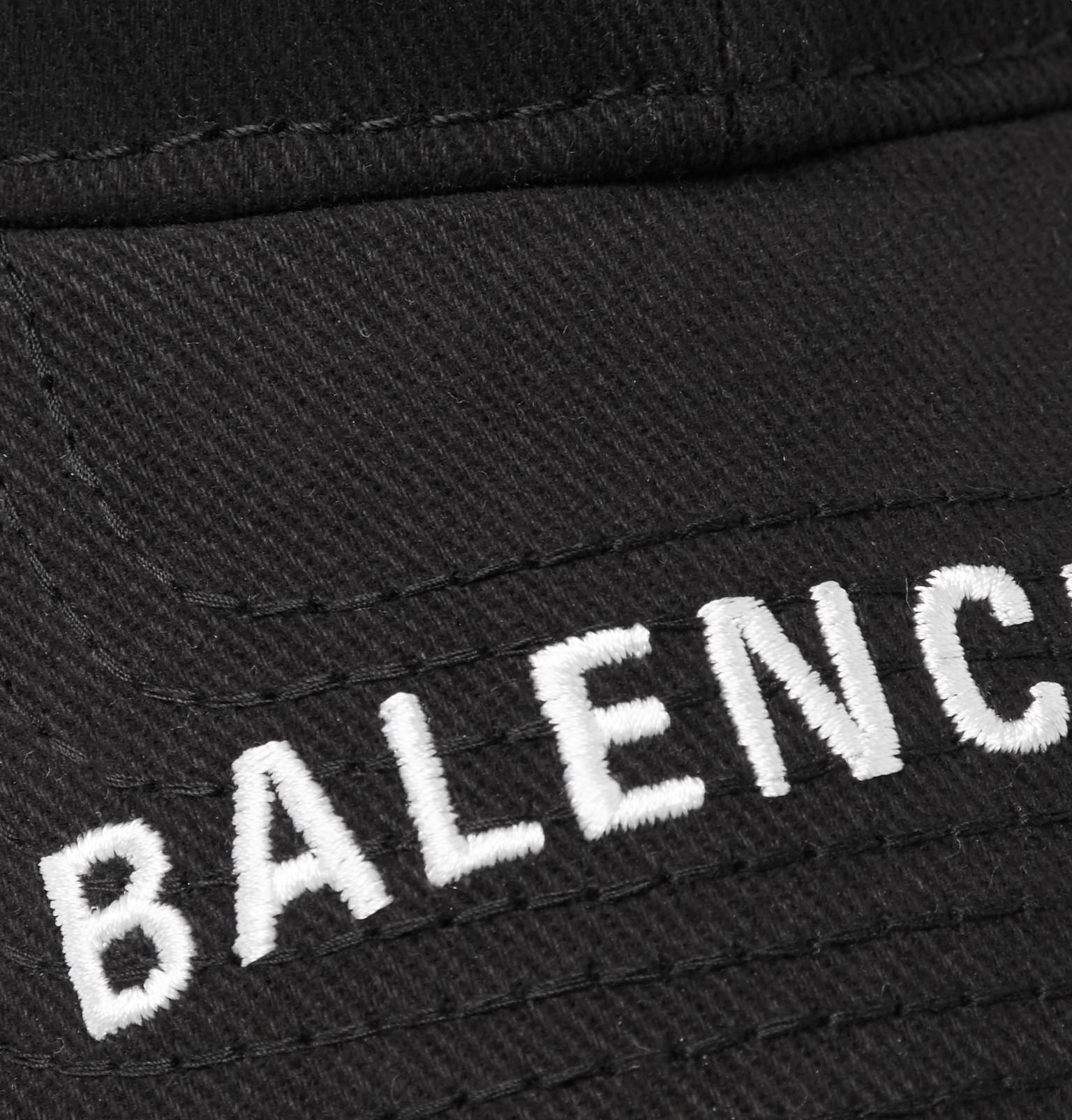 Balenciaga - Logo-Embroidered Cotton-Twill Baseball Cap f7b25e24aa08