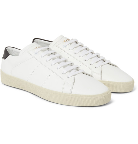 Buy Cheap Low Cost Saint Laurent Court Classic SL/06 leather sneakers Free Shipping Low Shipping Fee Cheap Sale Best Prices Websites For Sale vGqD2sIbMC