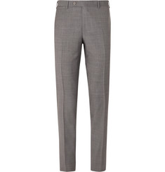 Canali - Grey Slim-Fit Super 130s Wool Suit Trousers