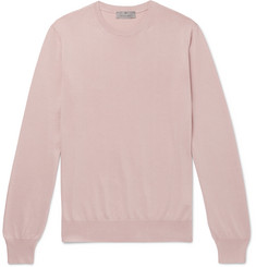 Canali Slim-Fit Cotton Sweater