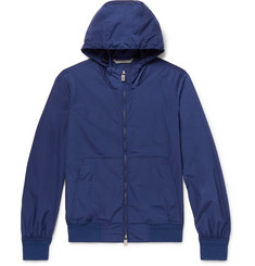 Canali Shell Hooded Anorak