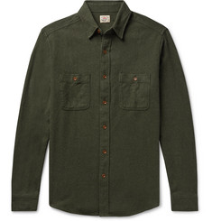 Faherty Cotton-Flannel Shirt