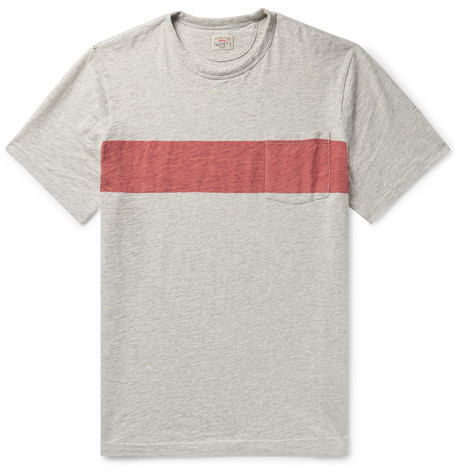 96a3d30c52 Faherty Men's Surf Striped Pocket T-Shirt In Gray | ModeSens