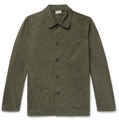 Aspesi Garment-Dyed Cotton-Canvas Field Jacket