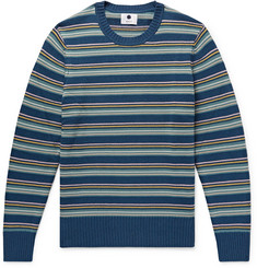 NN07 Carlson Striped Knitted Sweater
