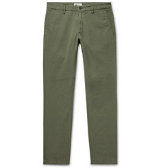 NN07 - Karl Slim-Fit Cotton and Linen-Blend Trousers