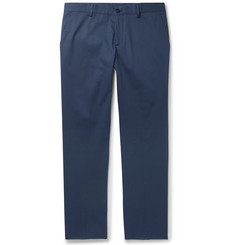 Etro Slim-Fit Stretch-Cotton Twill Chinos