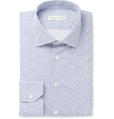 Etro Slim-Fit Paisley-Print Cotton-Poplin Shirt