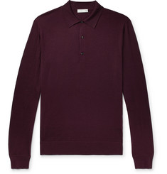 Etro Wool Polo Shirt