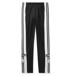 adidas Originals Striped Sateen-Jersey Sweatpants