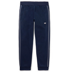 adidas Originals Arena Tapered Piped Textured-Jersey Sweatpants
