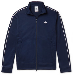 adidas Originals Arena Piped Textured-Jersey Track Jacket