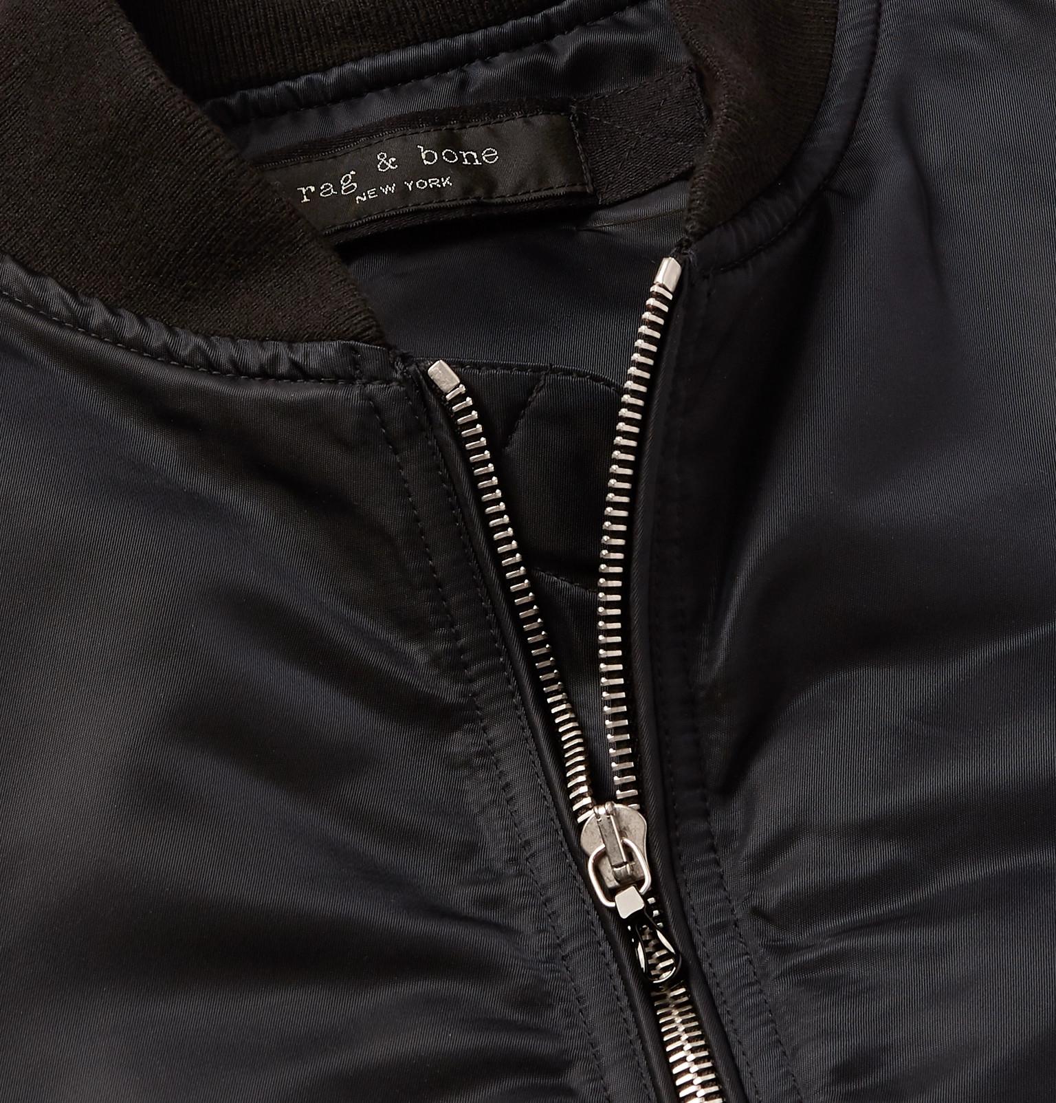 ba5ee3618 rag & bone - Manston Nylon Bomber Jacket