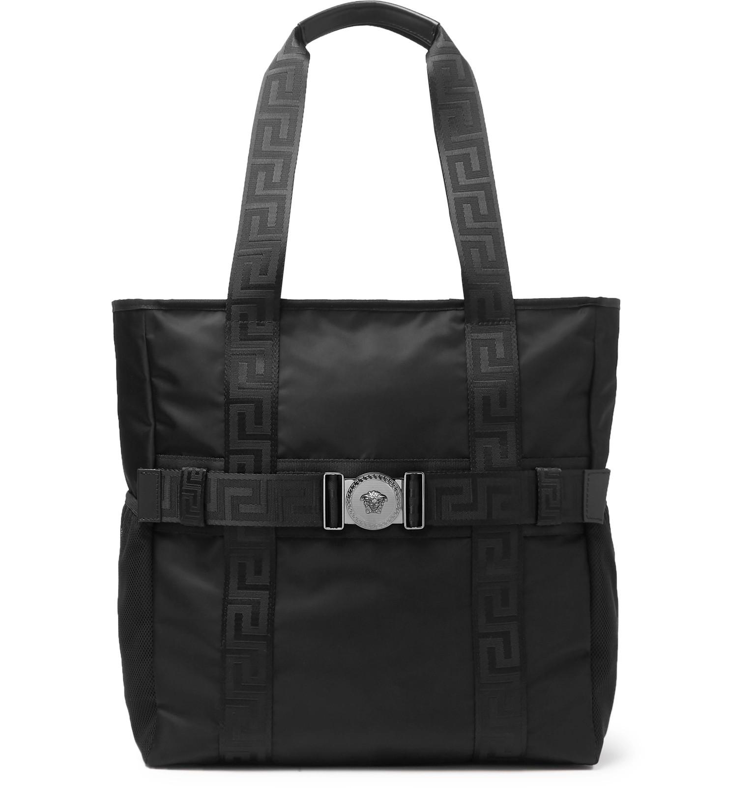 cc58fbded8eb Versace - Logo-Detailed Nylon Tote Bag