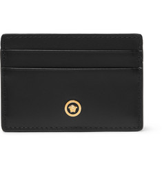 Versace Textured-Leather Cardholder