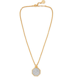 Versace Gold and Silver-Tone Necklace