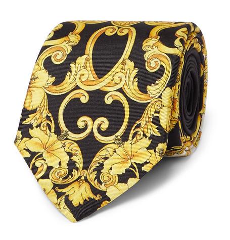 1988ada7f8 Versace - 7cm Printed Silk-Twill Tie