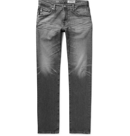 aa504374 AG Jeans - Tellis Slim-Fit Distressed Stretch-Denim Jeans