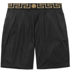 Versace Long-Length Wide-Leg Swim Shorts