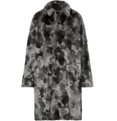 Balenciaga - Oversized Faux Fur Coat