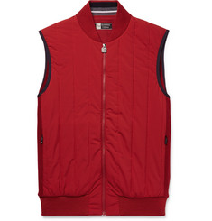 Z Zegna - Quilted Wool and Shell Gilet