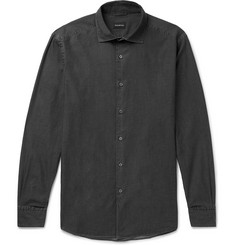 Ermenegildo Zegna Cotton-Chambray Shirt